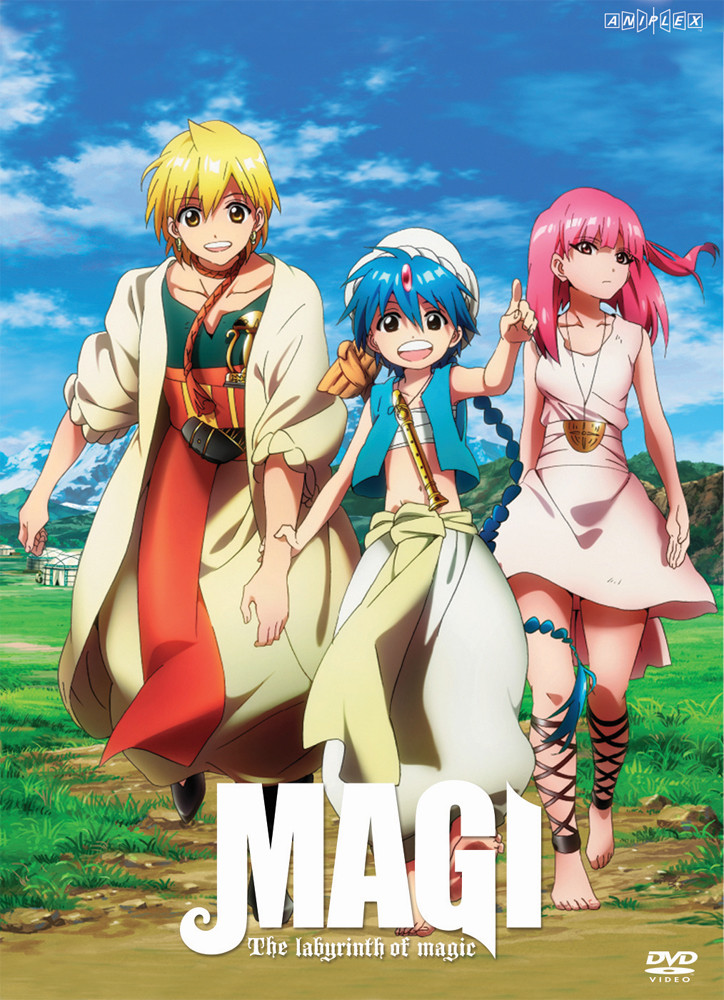 Magi labyrinth of magic manga